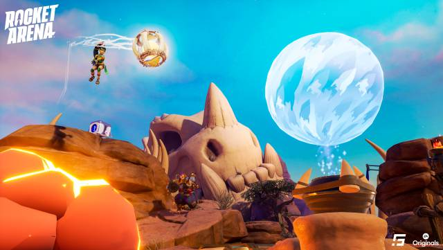 Rocket Arena impressions PS4 Xbox One PC