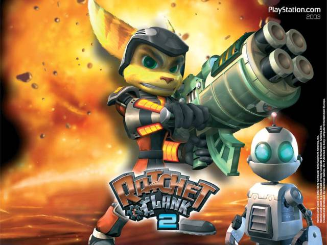 Ratchet & Clank 2: Totally Full (2003, PS2)