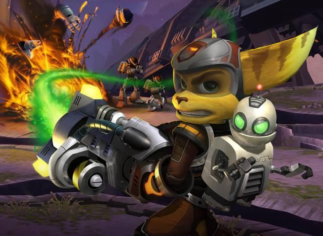 Ratchet & Clank 3 (2004, PS2)