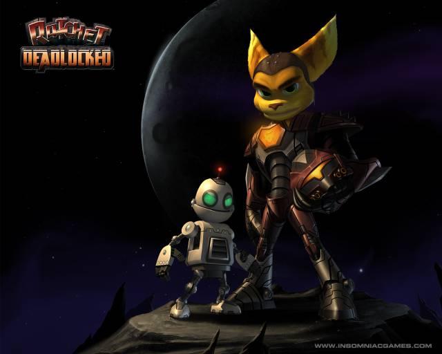 Ratchet: Gladiator (2005, PS2)