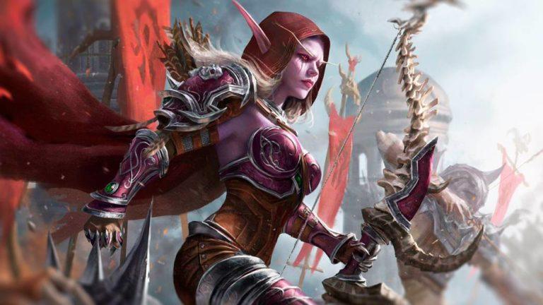 Sylvanas Brisaveloz, the Dark Lady of the Horde
