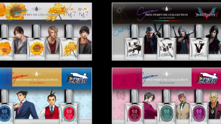 Capcom will open a perfumery in Tokyo at the end of November