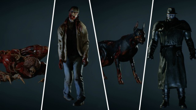 resident evil 2 remake complete guide types of enemies how to kill them