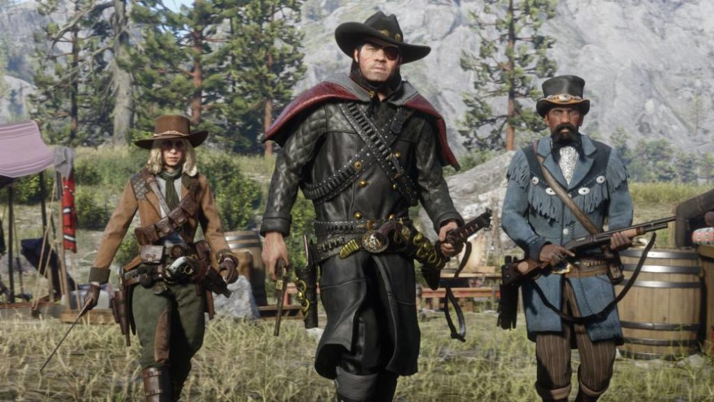 This is Frontier Pursuits, the new update of Red Dead Online