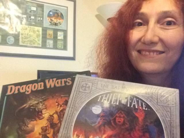 Rebecca Ann Heineman Bard's Tale Dragon Wars Interplay Olde Sküül Atari Space Invaders Contraband Avalon Hill Boone