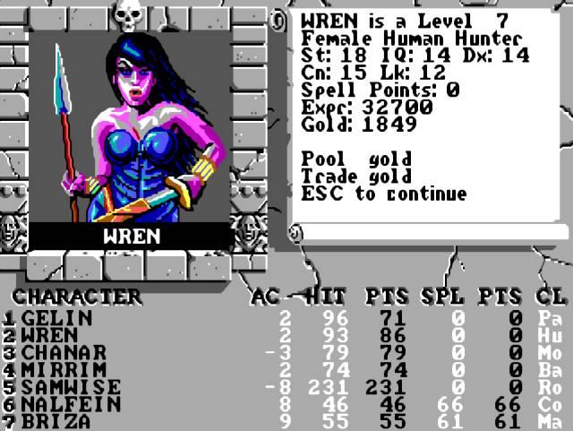 rebecca ann heineman The Bard's Tale Interplay Contraband Dragon Wars Atari Olde Sküül PC Atari RPG