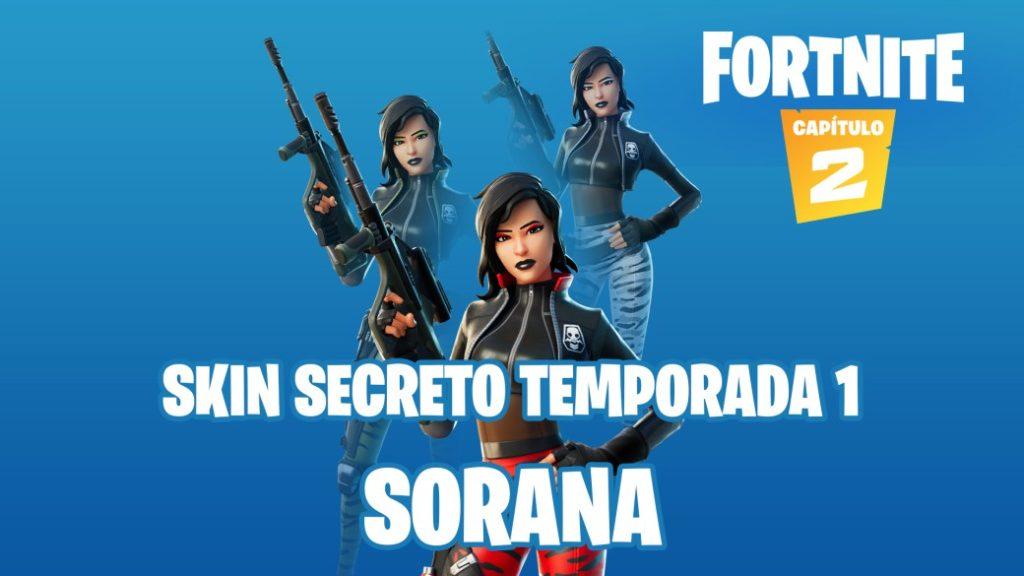 Fortnite Chapter 2 This Is Sorana The Secret Skin Of Season 1
