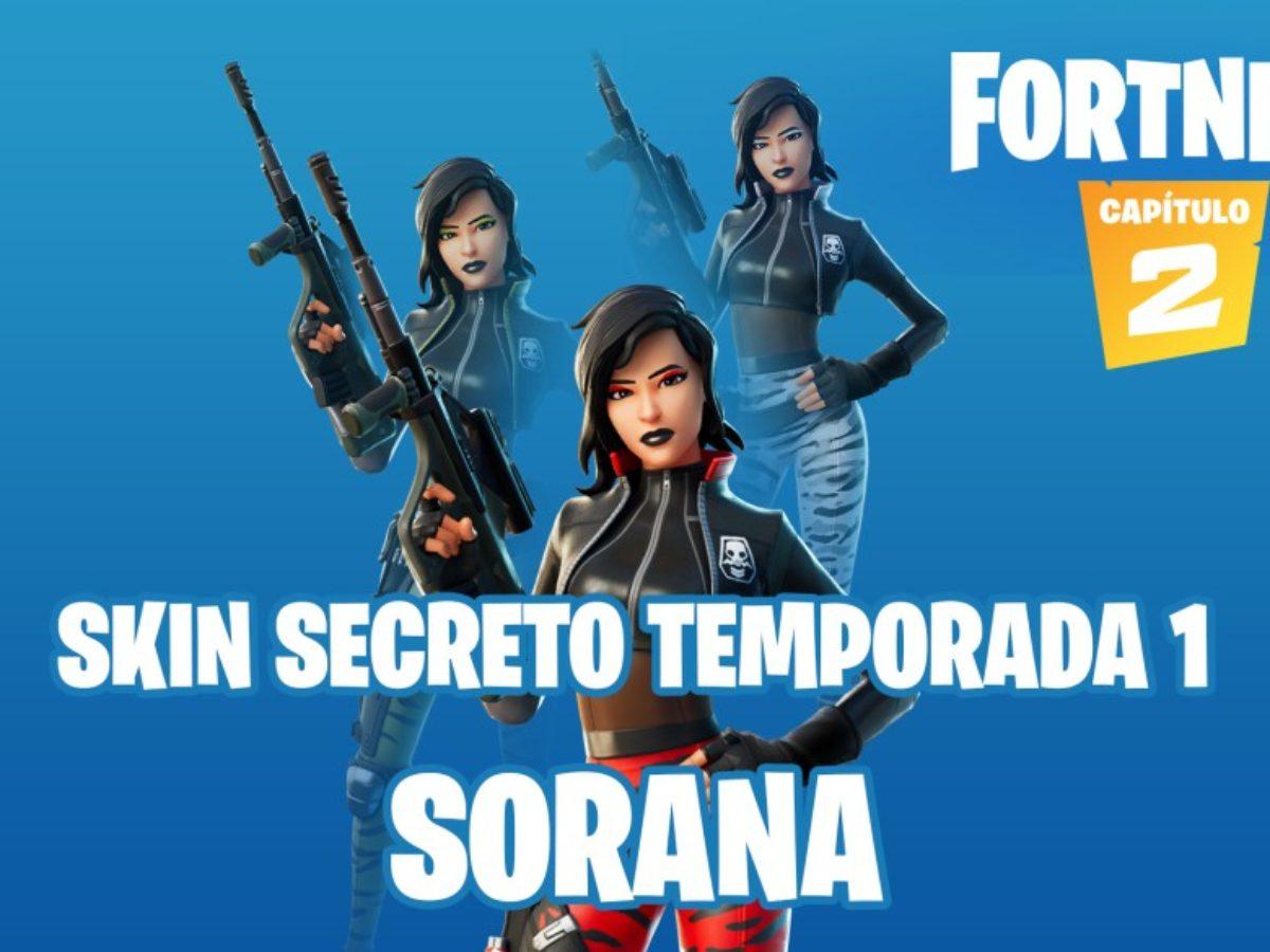 Hidden Letters In Fortnite Chapter 2 Fortnite Chapter 2 This Is Sorana The Secret Skin Of Season 1