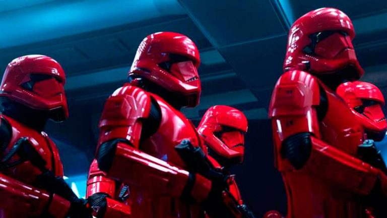 Knights of Ren and Sith Troopers in the new Star Wars episode IX spot