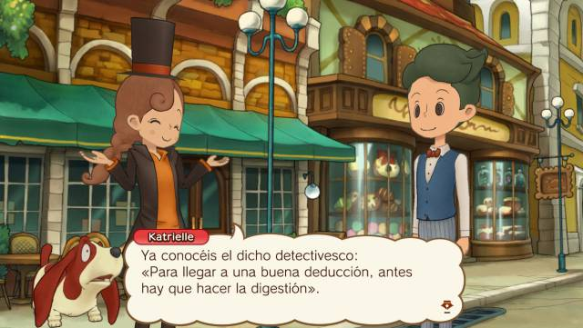 The mysterious journey of Layton Katrielle and the conspiracy of the millionaires Professor Layton Nintendo Nintendo Switch Katrielle Luke Howerd Sherl Level-5 Akihiro Hino