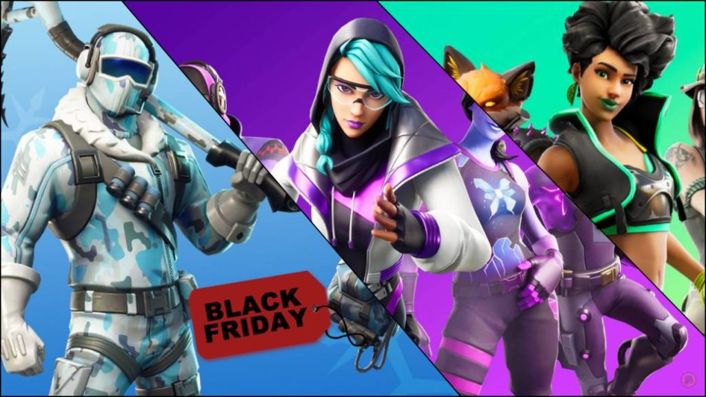 Black Friday Deals At Fortnite Games Packs And Discounts