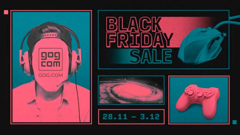 GOG starts its Black Friday campaign with great discounts