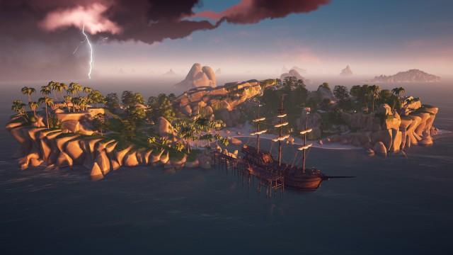 cannon cove island sea of thieves sot xbox