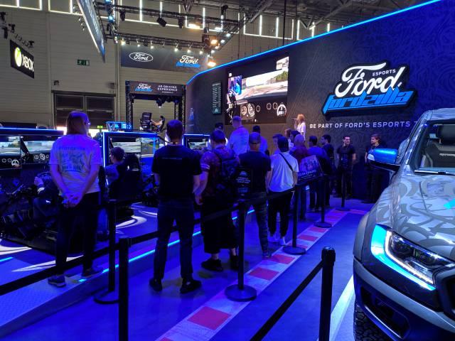 Fordzilla, the new Ford E-sports team
