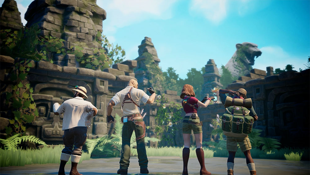 JUMANJI: The video game – Launch Trailer for today's release