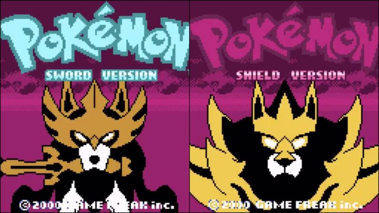 Pokémon Sword and Shield: recreate the intro as a Game Boy Color game