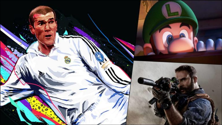 Sales Spain: FIFA 20 wins CoD: Modern Warfare and Luigi's Mansion 3 in October