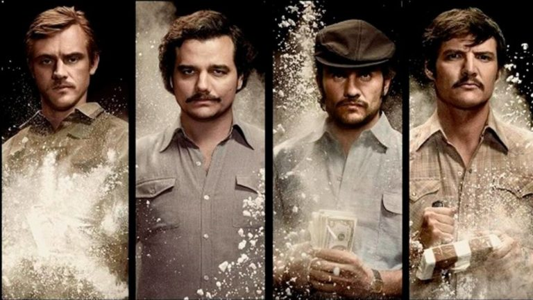 The Narcos game recreates the opening of the Netflix series in its new trailer