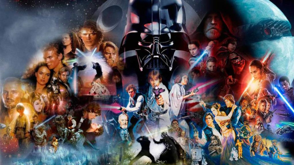 Star Wars Saga: in what order to watch all movies and series?