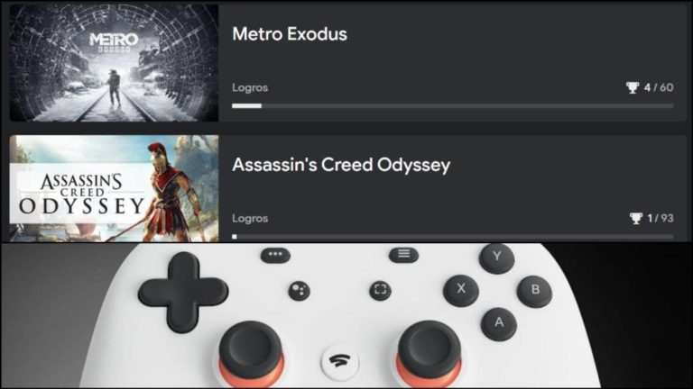 The achievement system is now available in Google Stadia; new offers