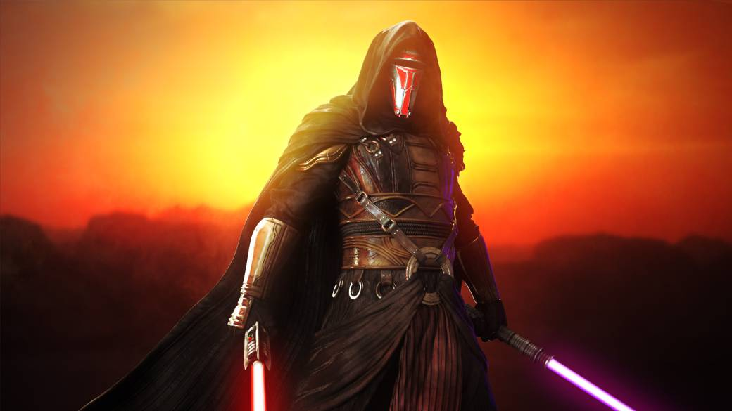 Star Wars Skywalker S Rise Turns Darth Revan Of Kotor Into A Canon