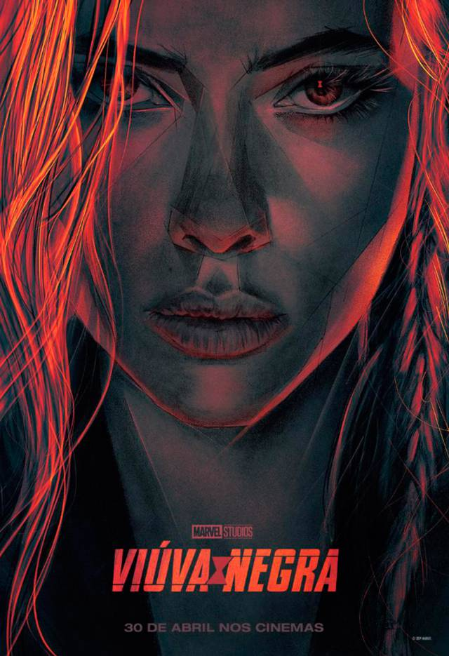 New Black Widow poster and images from the Marvel Studios series