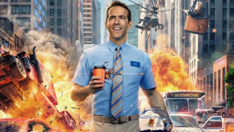Ryan Reynolds stars in Free Guy, a new video game comedy