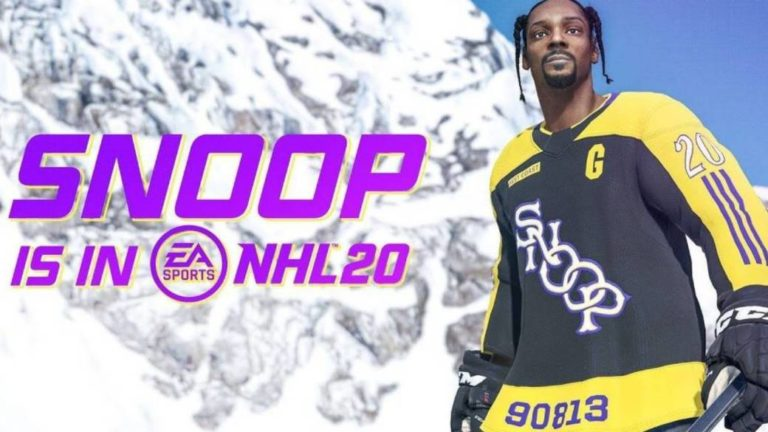 Snop Dogg becomes the new star of NHL 20
