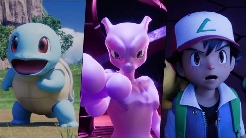 Pokemon Mewtwo Strikes Back Evolution Will Come To Netflix First Trailer In Spanish