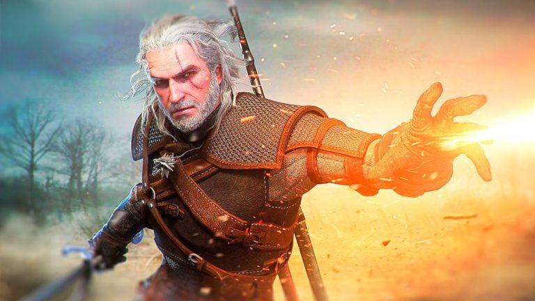 Geralt de Rivia (The Witcher), the legendary wizard of the Wolf School