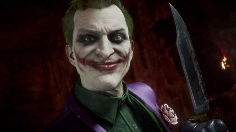 Mortal Kombat 11: the Joker is joking in a new gameplay trailer