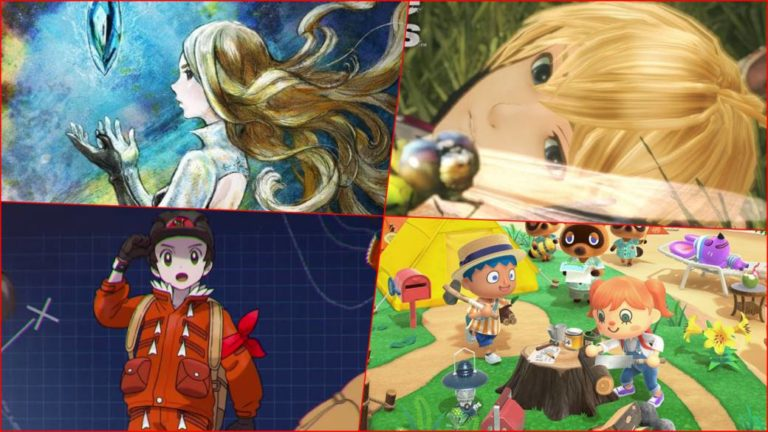 All launches confirmed for Nintendo Switch in 2020 in one image