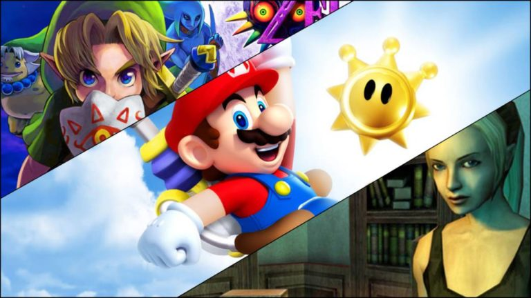 Nintendo renews the record of 39 games: Super Mario Sunshine, Majora's Mask…