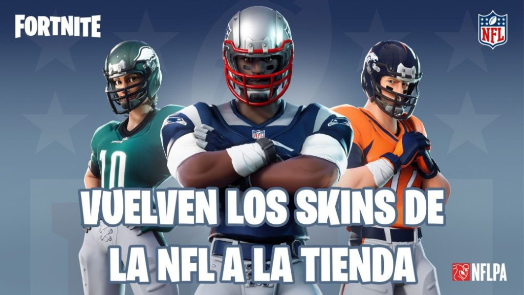 Fortnite: NFL skins return to the store