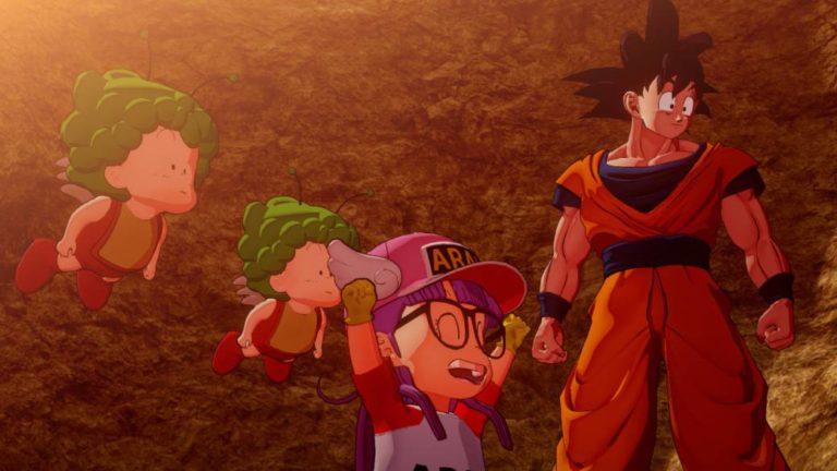 Dragon Ball Z: Kakarot will add a free subframe starring Arale