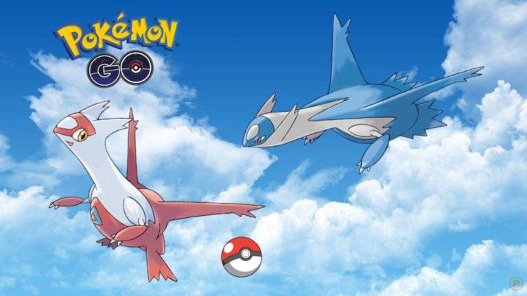Pokémon GO: Latios and Latias return to the Raids for a limited time