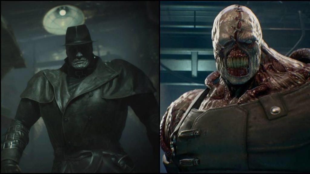 Resident Evil 3 Nemesis Will Try To Beat Mr X From Resident Evil