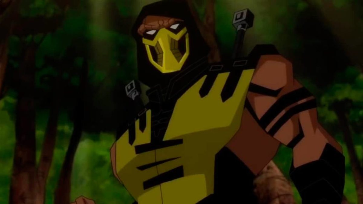 This Is The Trailer For The Movie Mortal Kombat Legends Scorpion S Revenge