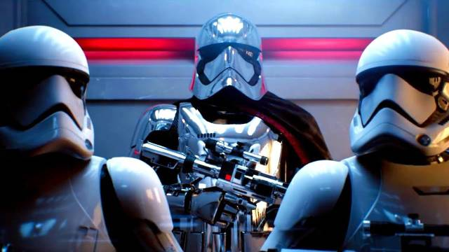 Ray tracing used in the movie 'Star Wars: Episode VII - The Force Awakens | Disney