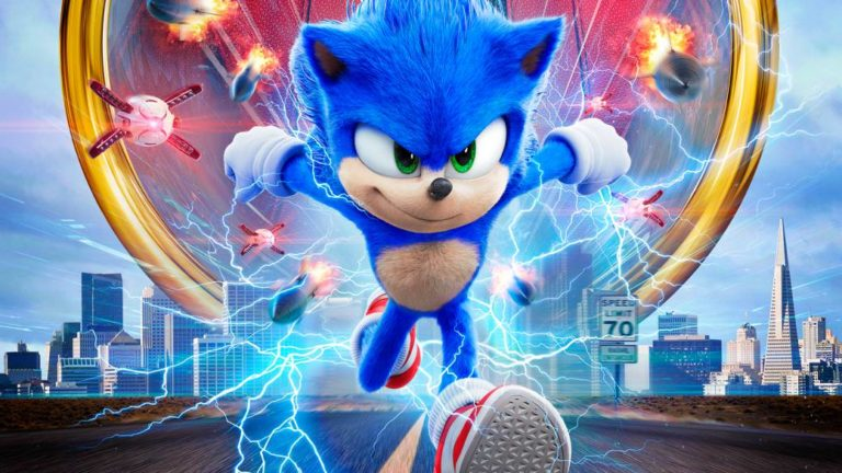 Sonic challenges the athletic elite in the new spot of the film