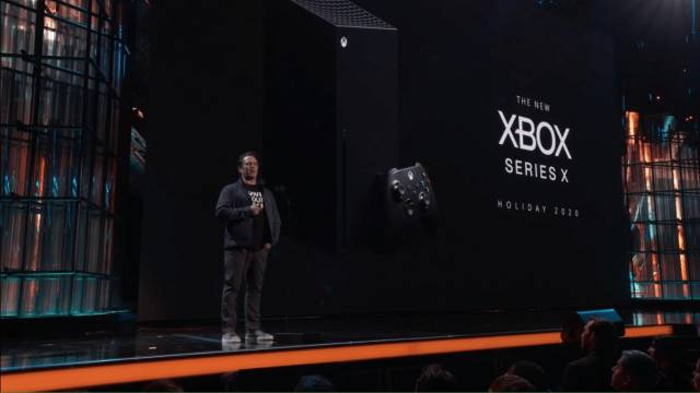 Phil Spencer during the Xbox Series X presentation at The Game Awards 2019
