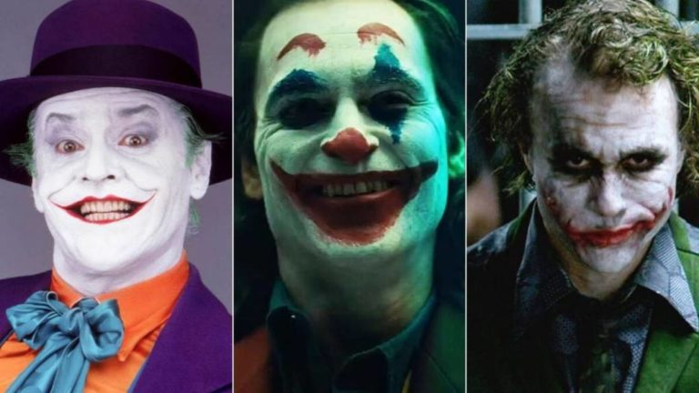 All the actors that have been the Joker until Joaquin Phoenix