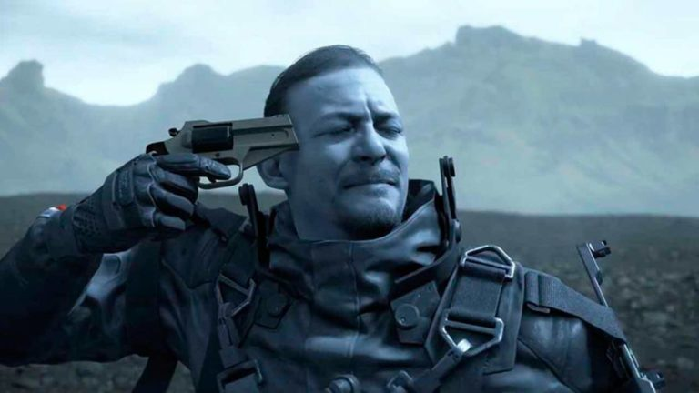 Death Stranding: a player achieves total control with a treadmill