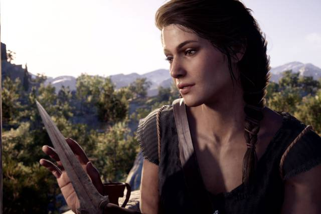 Women video games female characters Kassandra Assassin's Creed Odyssey