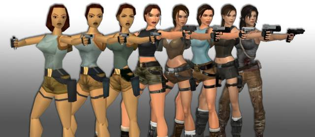 Women video games female characters Lara Croft