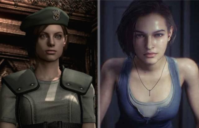 Women video games female characters Jill Valentine