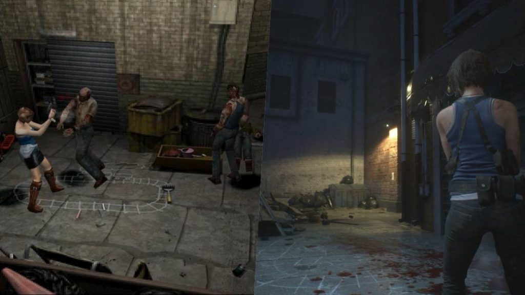 Resident Evil 3 Face To Face This Is How The Remake Has Changed From The Original