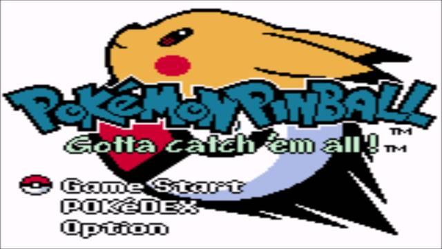 Pokémon Pinball (2000, GBC)