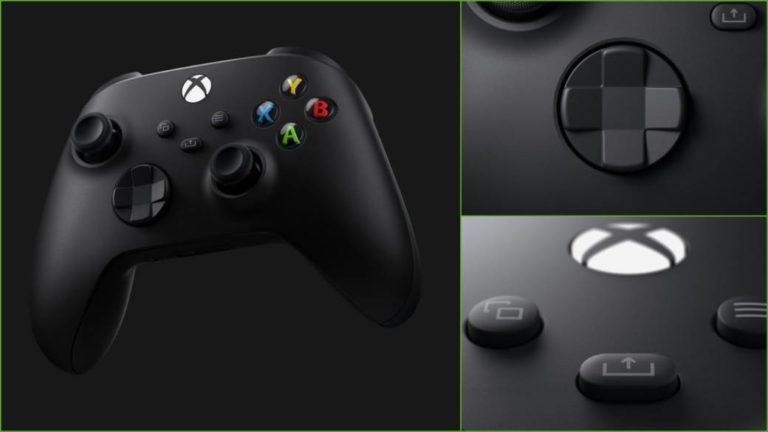 Xbox Series X controller revealed: new crosshead, share button and more