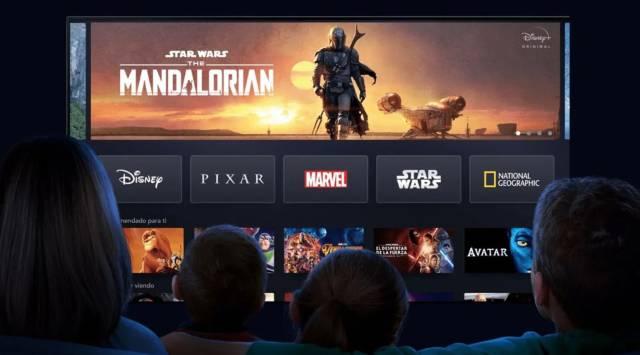 The Mandalorian at Disney +
